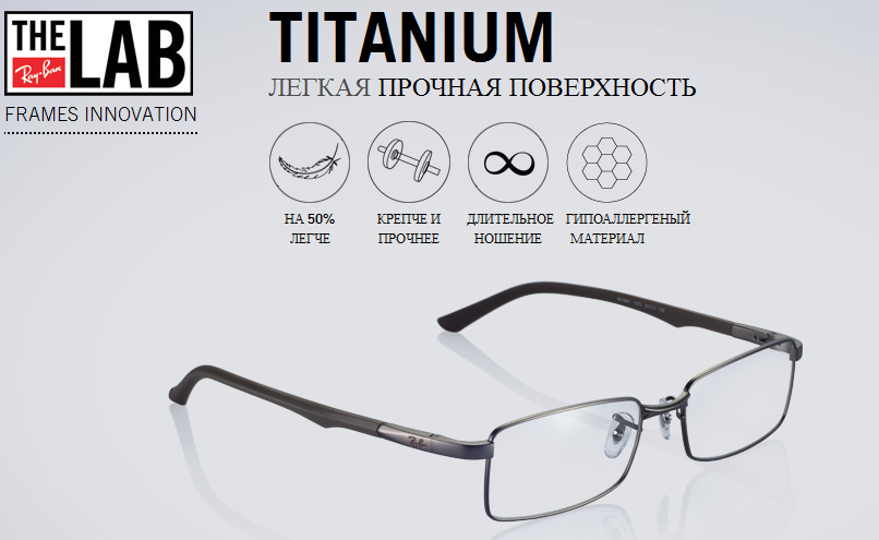 Ray-ban Titanium Technology