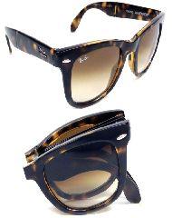 Folding оправа в очках Wayfarer 4105 710