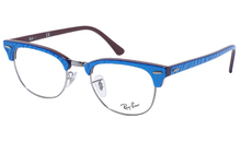 Clubmaster RX 5154 8052 Marble Optics