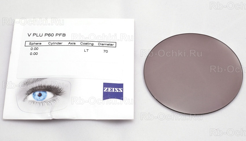 Carl Zeiss 1.6 AS PhotoFusion Brown DVP