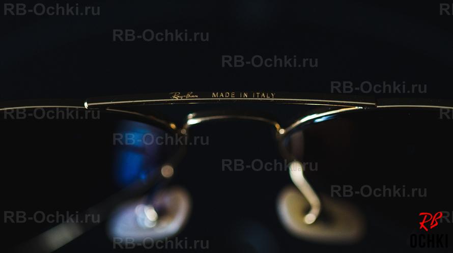 fe993eb3cfba ... верхней планке с внутренней стороны должна быть нанесена гравировка с  именем бренда Ray-Ban и указанием размера (в данном случае 58-14) ...