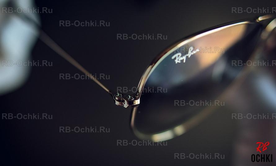 ... Ray-Ban на линзе должен быть нанесен всегда с правой стороны вверху в  левом углу, так как показано выше на фотографии модели RB 3025 003 3f. 891e9586bcf